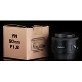 Yongnuo Ef Yn 50mm F/1.8 Para Canon+envio Gratis+estuche