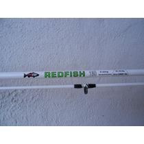 Combo Caña De Pesca Dos Tramos Redfish 1.80 Mts + Reel Se200