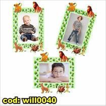 Adesivo Digital P Montagem Com Foto Tema Rei Leão Will0040