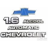 Emblema 1.6 Alcool Aut. Chevrolet Gravata - Chevette 83 À 86