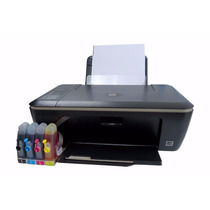 Bulk Ink Impressora + Par De Cartucho Hp 21/27/56 22/28/57