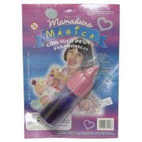 2 Mamadeira Magica Brinquedo Suco E Leite