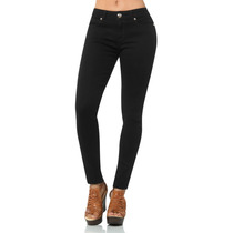 · Jeans Furor Pink Mezclilla Negro Levanta Pompa Gzi3768