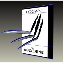 Cuadro Garras Logan Wolverine - X-men - Paper