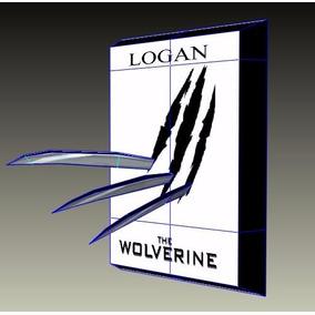Cuadro Garras Logan Wolverine - X-men - Patrones