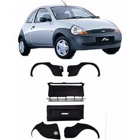 Kit Parachoque Dianteiro + Traseiro Ford Ka 97 98 99 00