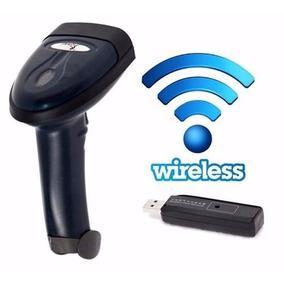 Leitor De Código De Barras Sem Fio Knup Wireless Usb Kp-1018