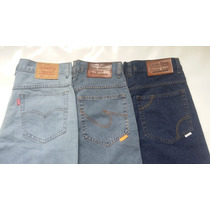 Calça Jeans Tradicional Corte Reto Masculina Levi