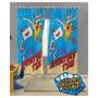 Cortina Para Varão - Adventure Time - 2 Peças - Lepper Kids