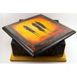 Caja De Madera Mdf,joyero,regalo,cofre Medidas 17x17x6,5 Cm