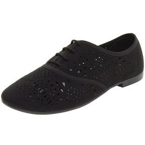 Sapato Feminino Oxford Preto - 4150101 Beira Rio Clóvis C