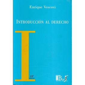Introducción Al Derecho - Enrique Vescovi