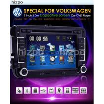 Stereo 2din Dvd Gps Bluetooth Bora Vento Amarok Passat Golf