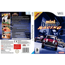 Nintendo Wii Jogo Mini Desktop Racing Lacrado Original Game