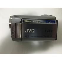 Filmadora Jvc 40gb 9to50hrs Hybrid Hd Everio Com Maleta