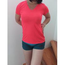 Blusa, Jersey Reebok Original Dama, Lycra Sexy, Short Nike
