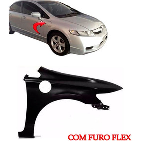 Paralama New Civic Ld 2007 2008 2009 2010 2011 C/ Furo Flex