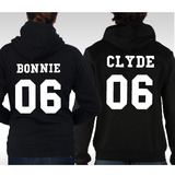 Kit C/2 Blusas Bonnie & Clyde - Moletom Canguru!