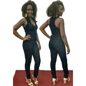 Macacao Feminino Jeans Longo Limdo Lojas Bh