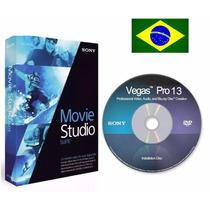 Sony Vegas Pro 13 Mídia Física + Brinde