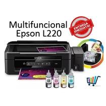 Impressora Multifuncional Epson Ecotank L220 Jato De Tinta