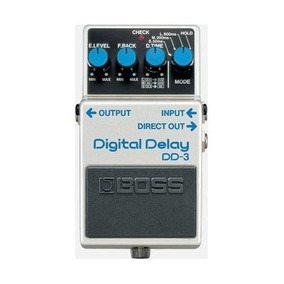Pedal Boss Dd 3 Digital Delay 11196 Original