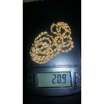 Cadena De Oro 18k Modelo Tourbillon Peso 20.9 Grs
