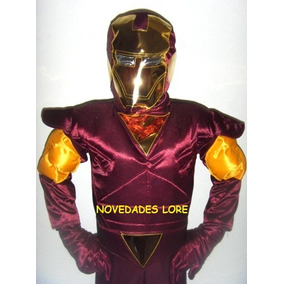 Disfraz Iron Man Avengeres Regalo Niño Envio Cumpleaños