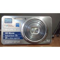 Sony Cybershot 16.1 Megapixels Filma Em Hd. Ótima Resolução!