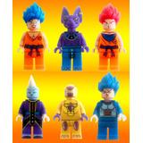 Dragon Ball Z Freezer Bills Wiss Goku Compatible Con Lego