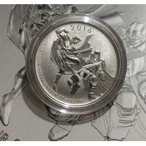 Moneda Batman Vs Superman Plata 1/4 Oz. Ley 0.999