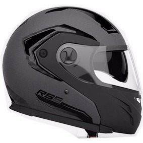 Casco Rebatible Rs5 Vector Doble Visor 2017 Negro Mate - Fas