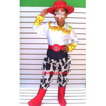 Disfraz Jessie Vaquerita Con Botas Y Sombrero Toy Story Niña