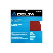 Disco De Lija Con Pegamento 9 Grano 100 Delta