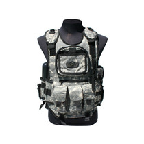 Chaleco Tactico Deluxe Acu Gxg Y 4 Pods Paintball Gotcha