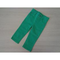 Calça Tigor T Tigre Baby Jeans Verde 1p-