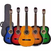 Guitarra Criolla Clasica Calidad Superior +funda Basica+ Pua