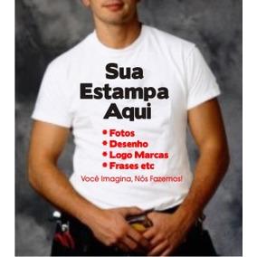 Camisetas Personalizadas - C/ Sua Estampa Adulto E Infantil