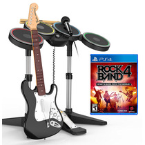 Juego Rockband 4 Guitarra/bateria Playstation Ibushak Gaming