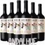 6x Vino Tinto Malbec Quinde Orgánico De Exportación. Natural