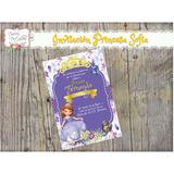 Tarjeta Invitacion Imprimible Princesa Sofia 2