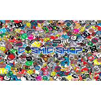 Adesivo Painel Carro Sticker Bomb Carro Moto 30x20cm #sb030