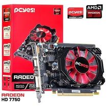 Placa De Video 2gb Oc Gddr5 128bits Amd Radeon Hd 7750