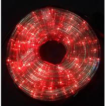 Manguera Luz Led De 10 Metros Roja Con Control De Cambios