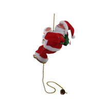Mayoreo 10 Pzas Adorno Navideño Santa Claus Musical