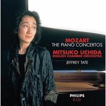 Mozart - Conciertos Para Piano - Uchida - Edición 8 Cds