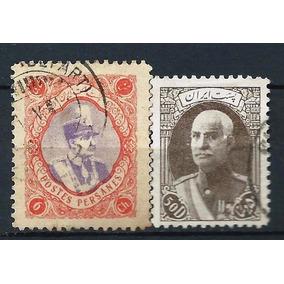 57 - Persia - Irá - 2 Selos Antigos - No Compre Já