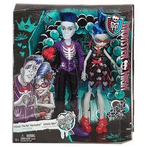 Monster High Love No Muero Ghoulia Yelps Y Sloman Slo Mo