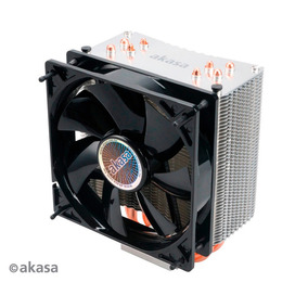 Cooler Akasa Nero 3 Heatpipe Cobre Amd Intel Lga Pwm 12cm