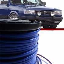 Kit Friso Filete Azul Parachoque Gol G1 Quadrado C/6mts